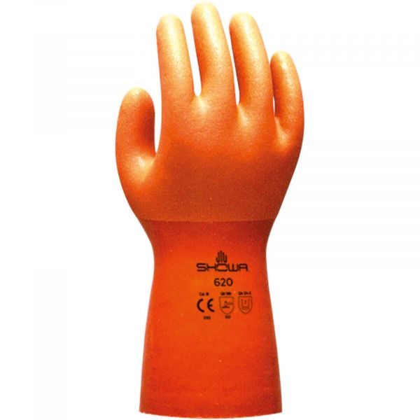 Trocken-Handschuhe für Ringsysteme (orange)