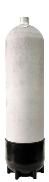 Faber 12 Liter Leichtstahlflasche 200bar, feuerverzinkt, 12,6kg Gewicht ohne Ventil