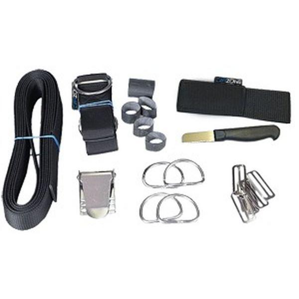Harness für Backplate - komplett Set