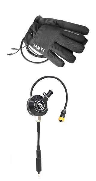Santi Comfort + Set: Heizhandschuhe +Thermoventil