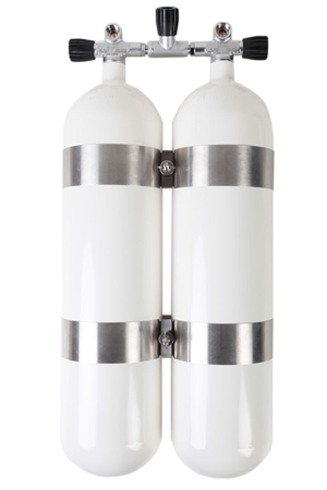 Doppelgerät D 12 Rundboden 232 bar DIR-Style & TüV