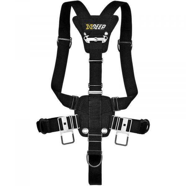 XDeep Stealth Harness ohne Wing mit zentralem Gewichtssystem