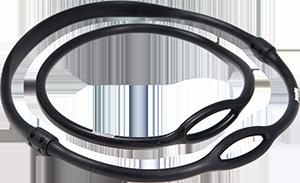 Atemregler Nackenband (Necklace) 19cm schwarz