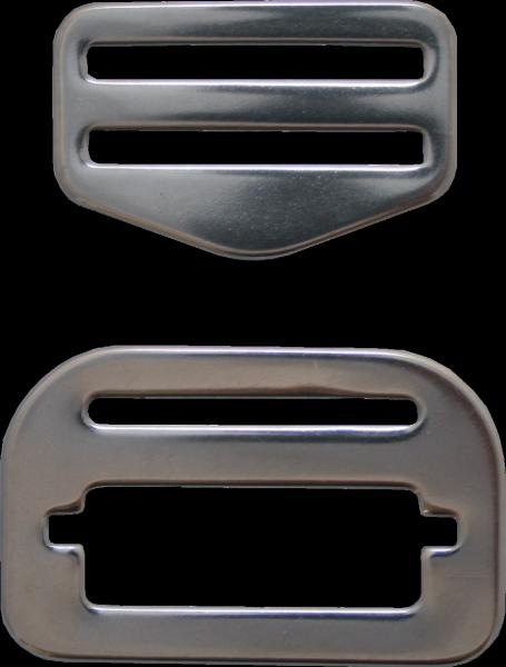 Edelstahl Gurtschnalle mit Steckmechanismus