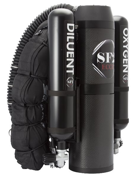 "SF-2 Rebreather Backmount ""Ready to Dive"""