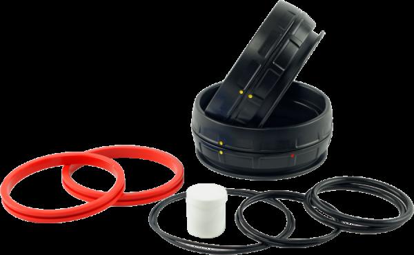 Rolock 3 Trockenhandschuh-Ringsystem (roter Ring)
