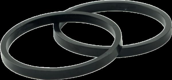 RoLock Ring 2 schwarz - zur Montage von Handschuhen mit festem Innenfutter Gr. L/XL