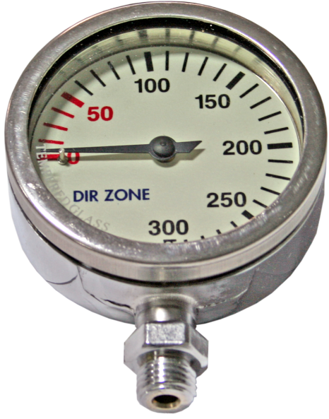 Dirzone Finimeter 52mm, 240bar, chrom