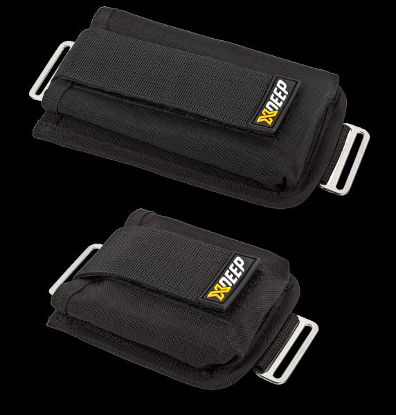 XDeep Sidemount Trim Pockets (1 Paar) - Taschen für Trimmblei